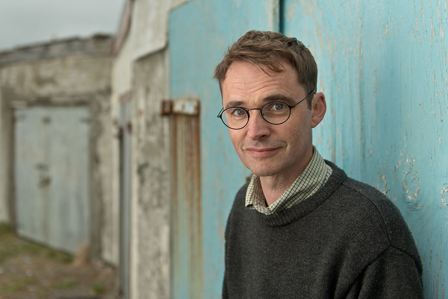 Image of author Dylan Horrocks. (Photo credit: Grant Maiden)
