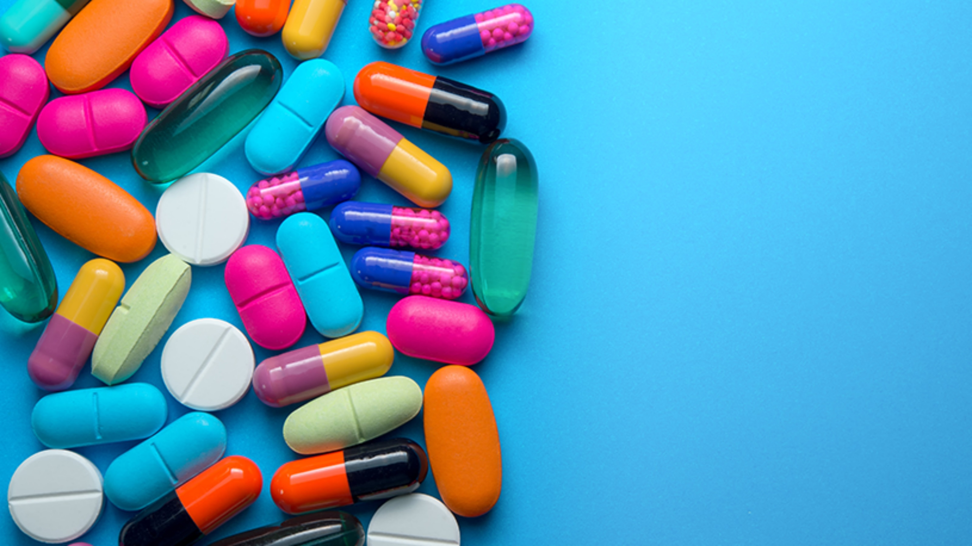 Picture of pills and medicine