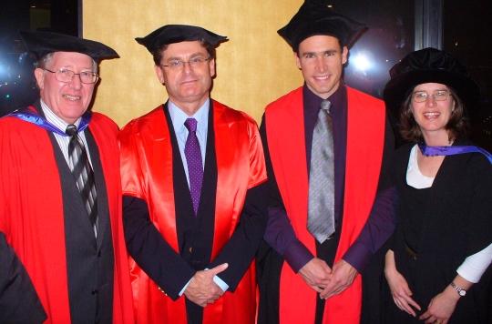 Martin Banwell graduation