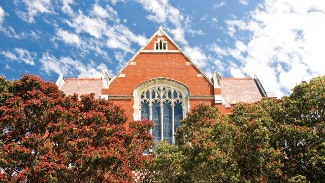 Victoria University of Wellington's oldest building on Kelburn campus