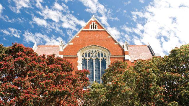 Victoria University of Wellington's oldest building on Kelburn campus