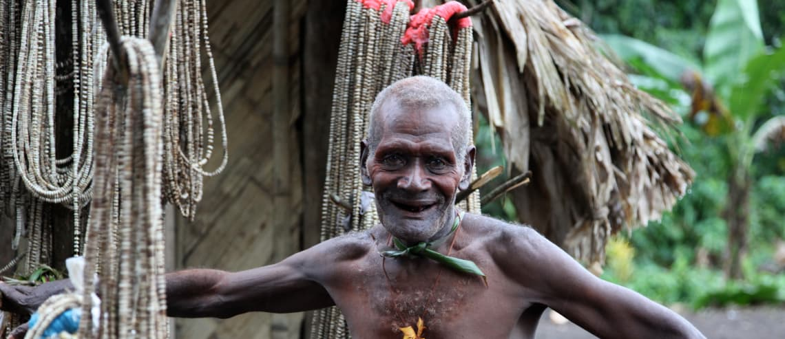 Member of the Lak Tribe, Papua New Guinea