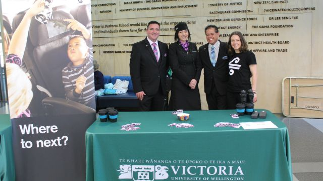Air NZ at Tourism Careers event