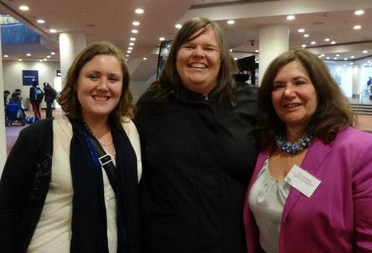 Jaimee Stuart, Adrienne Girling & Colleen Ward