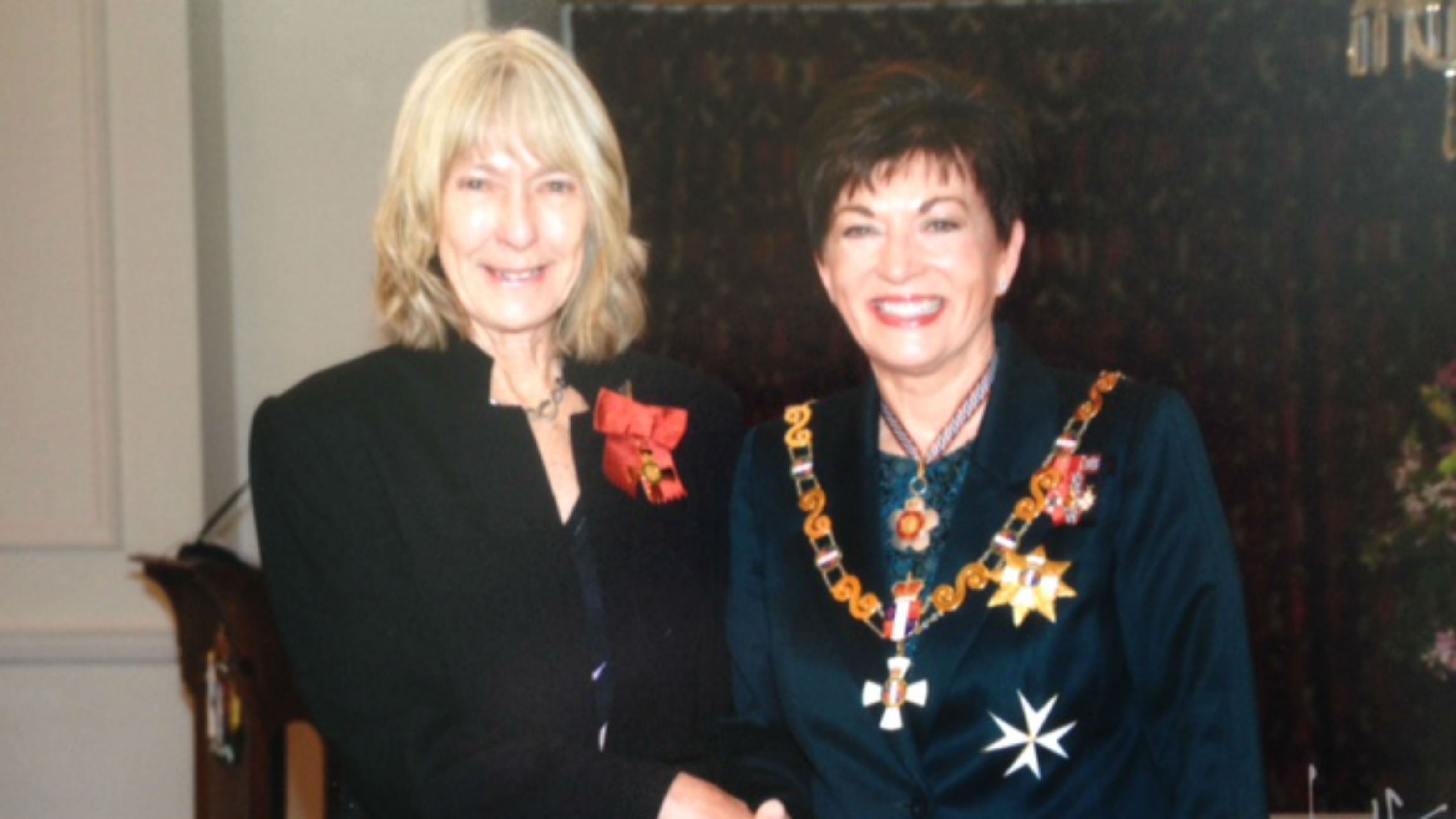 Janet Holmes investiture