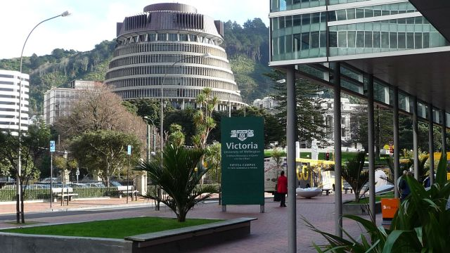 Photograph of New Zealand Parliament