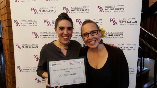 Jess Marinaccio Research Excellence Award