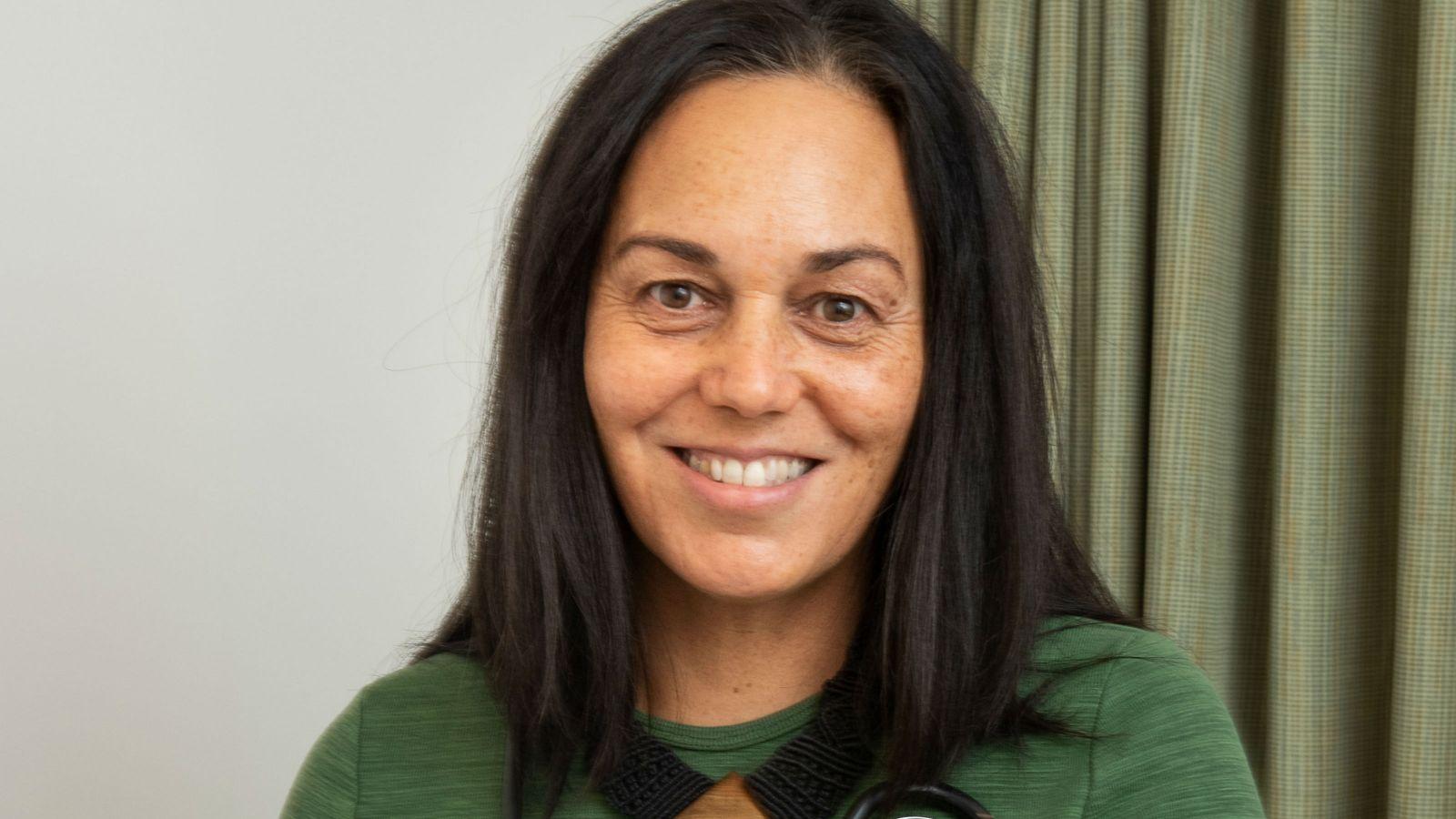 A portrait of Leeanne Orban