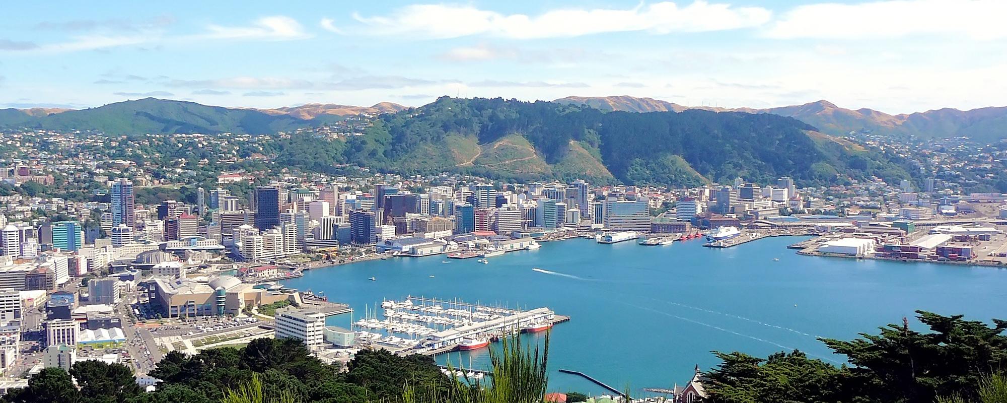 Central Wellington, New Zealand