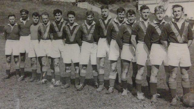 VUWAFC team in 1946