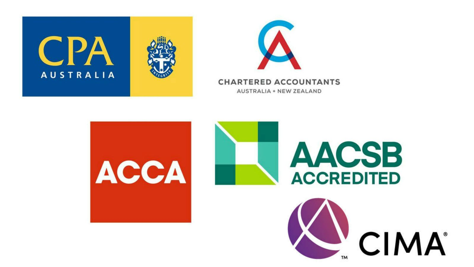 Logos for SACL accreditations.