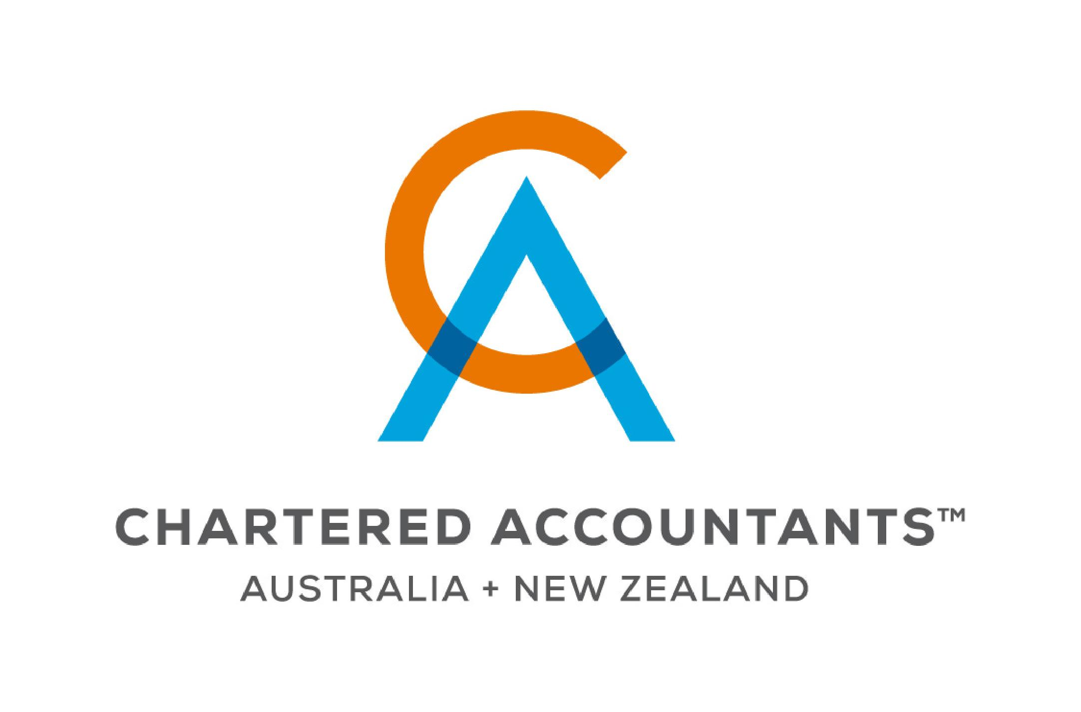 Chartered Accounts Australia New Zealand logo.