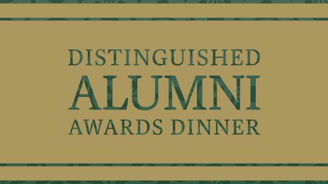 Distinguished Alumni Awards Dinner 2015.