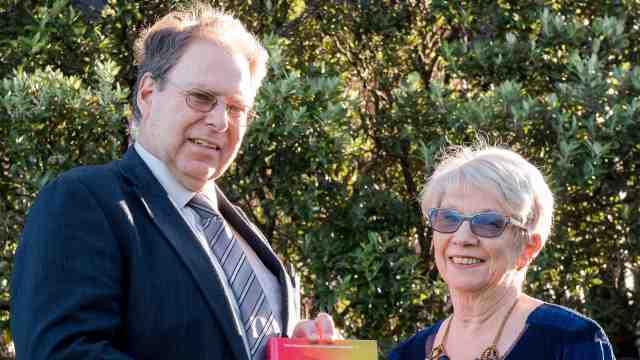 Associate Professor Graham Hassall and Emeritus Professor Rowena Cullen