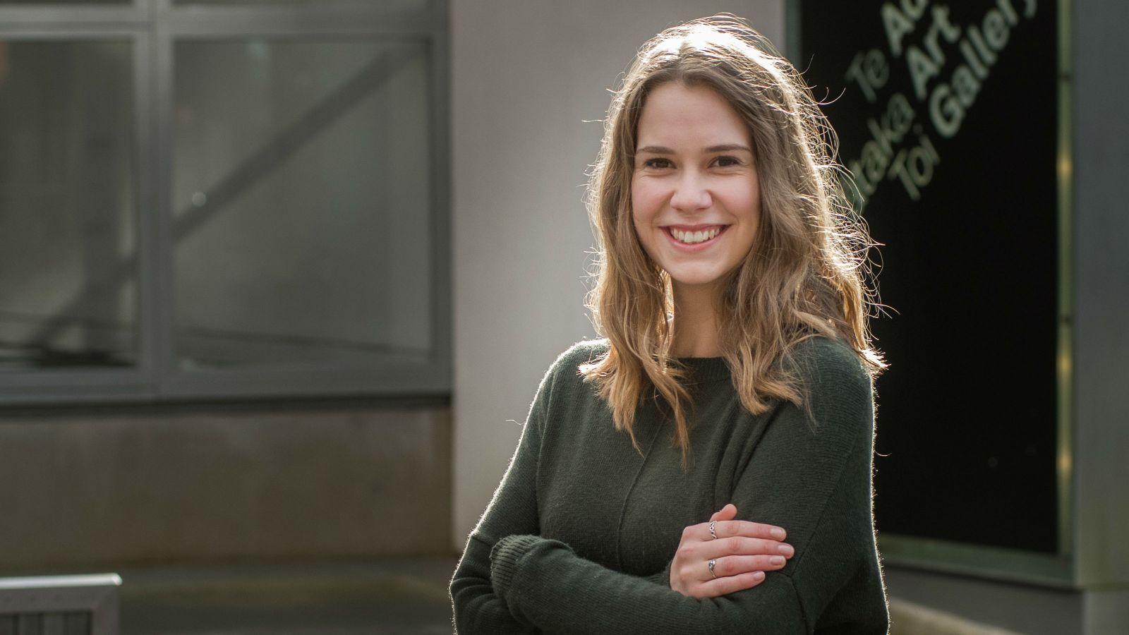 PhD candidate Amanda Wallis