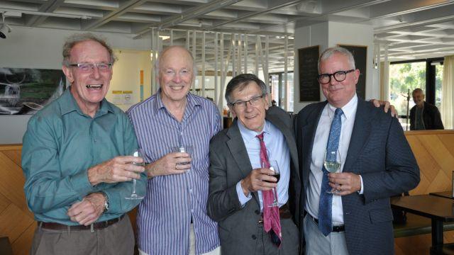 Emeritus Professor Chris Dearden, Emeritus Professor John Davidson, Professor Art Pomeroy, Professor Jeff Tatum