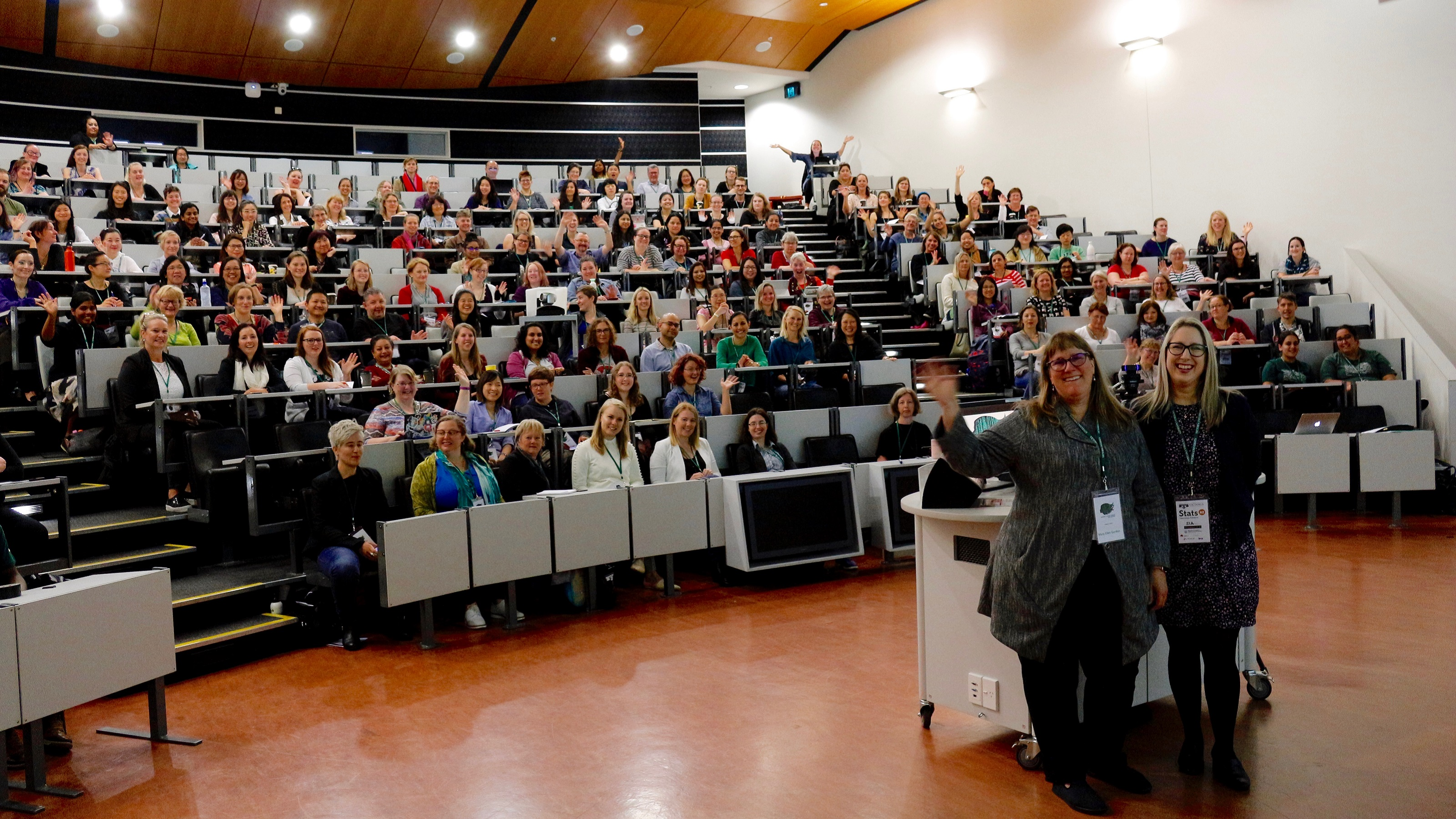 Attendees at the Wellington WiDS conference