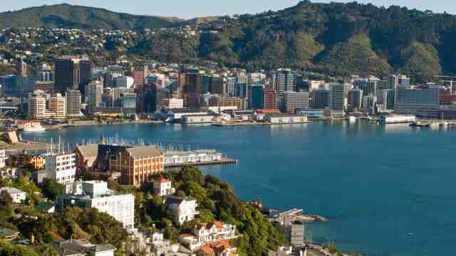 Wellington Oriental Bay View