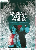 Liberate your words poster image