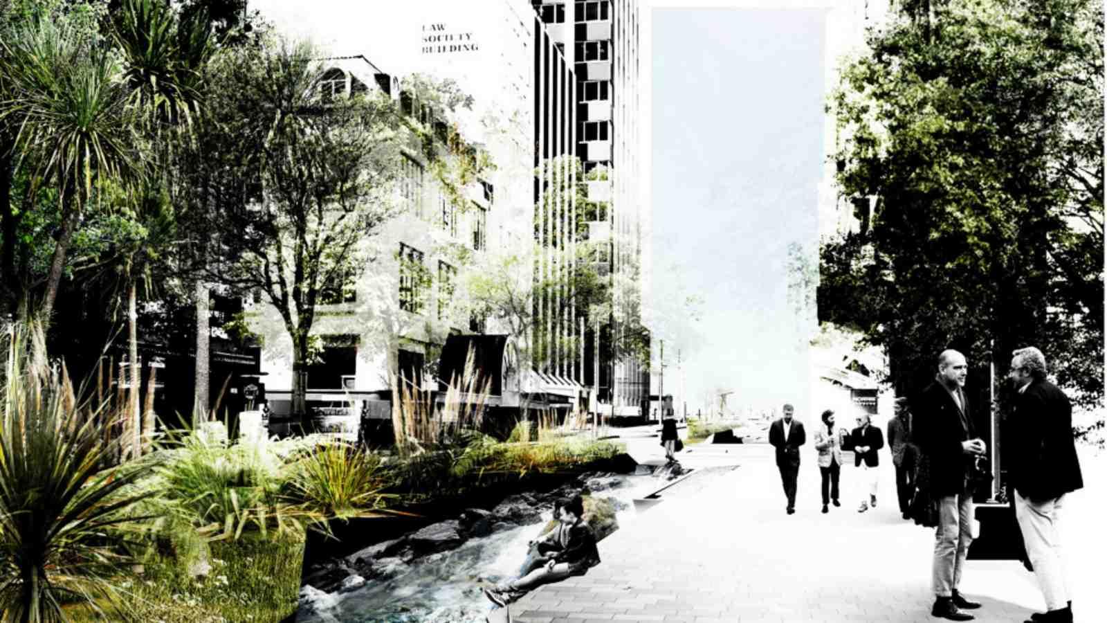 Student success at landscape architecture awards school for Landscape architects wellington