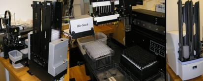 Robotic liquid handler