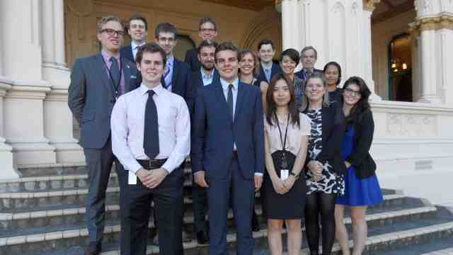 2015 parliamentary interns