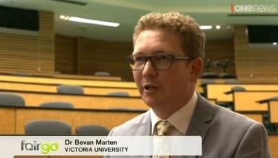 Bevan Marten on Fair Go