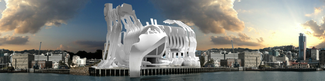 Architecture student Michael Wong's redesign of Te Papa as an innovative landmark for our capital city.