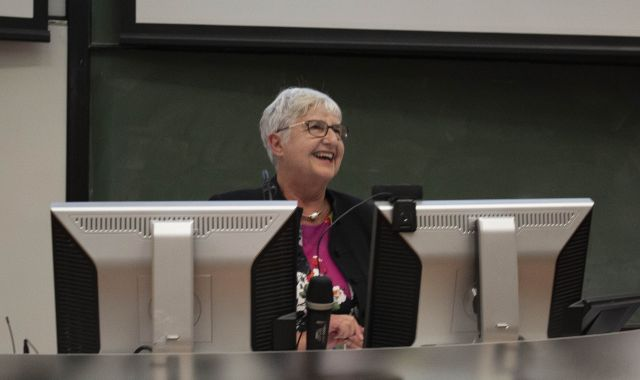 Dame Sian Elias speaks at Victoria University of Wellington