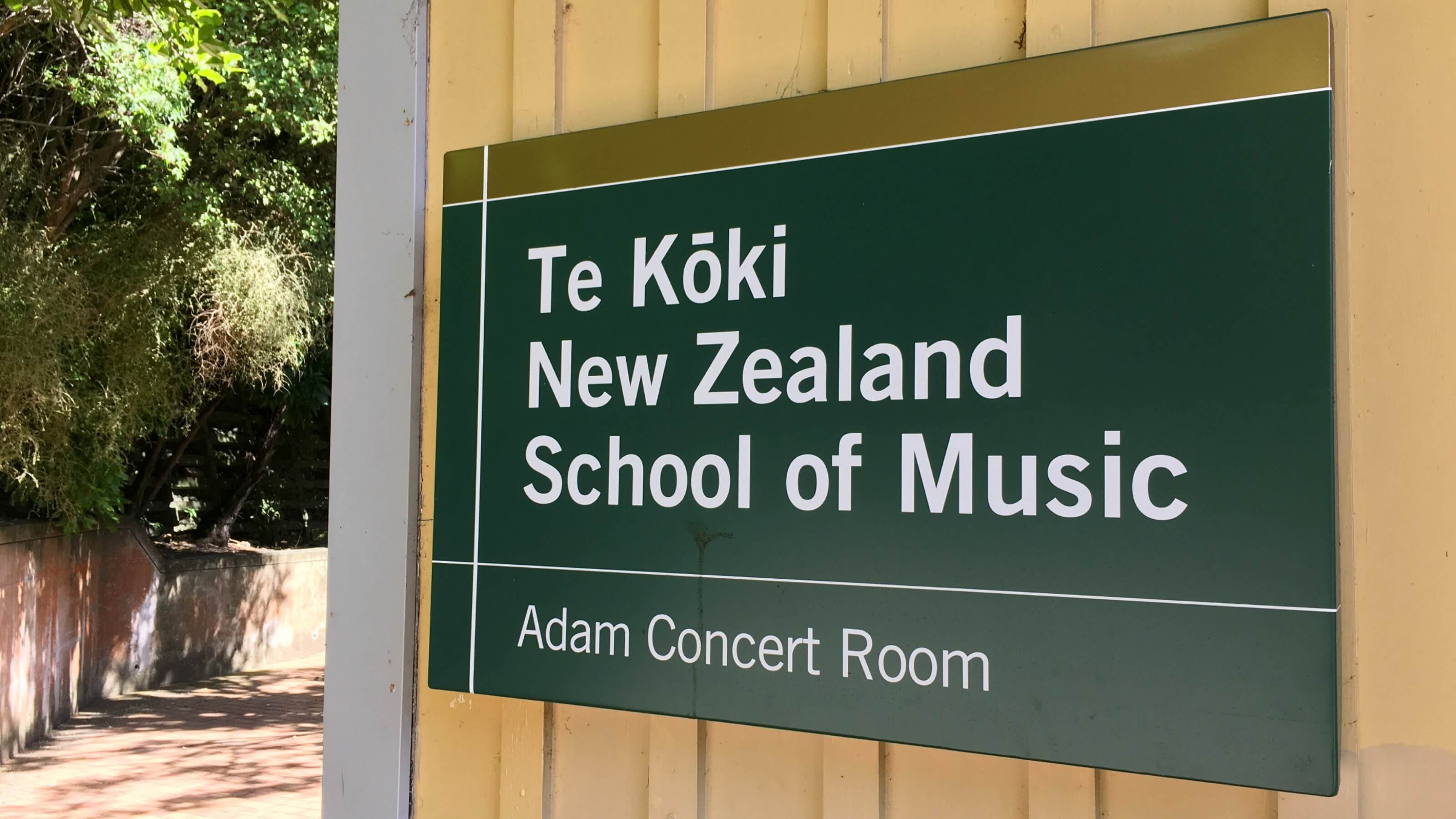 About our name - Te Kōkī New Zealand School of Music
