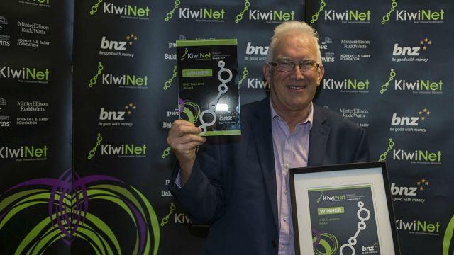 Richard with his award