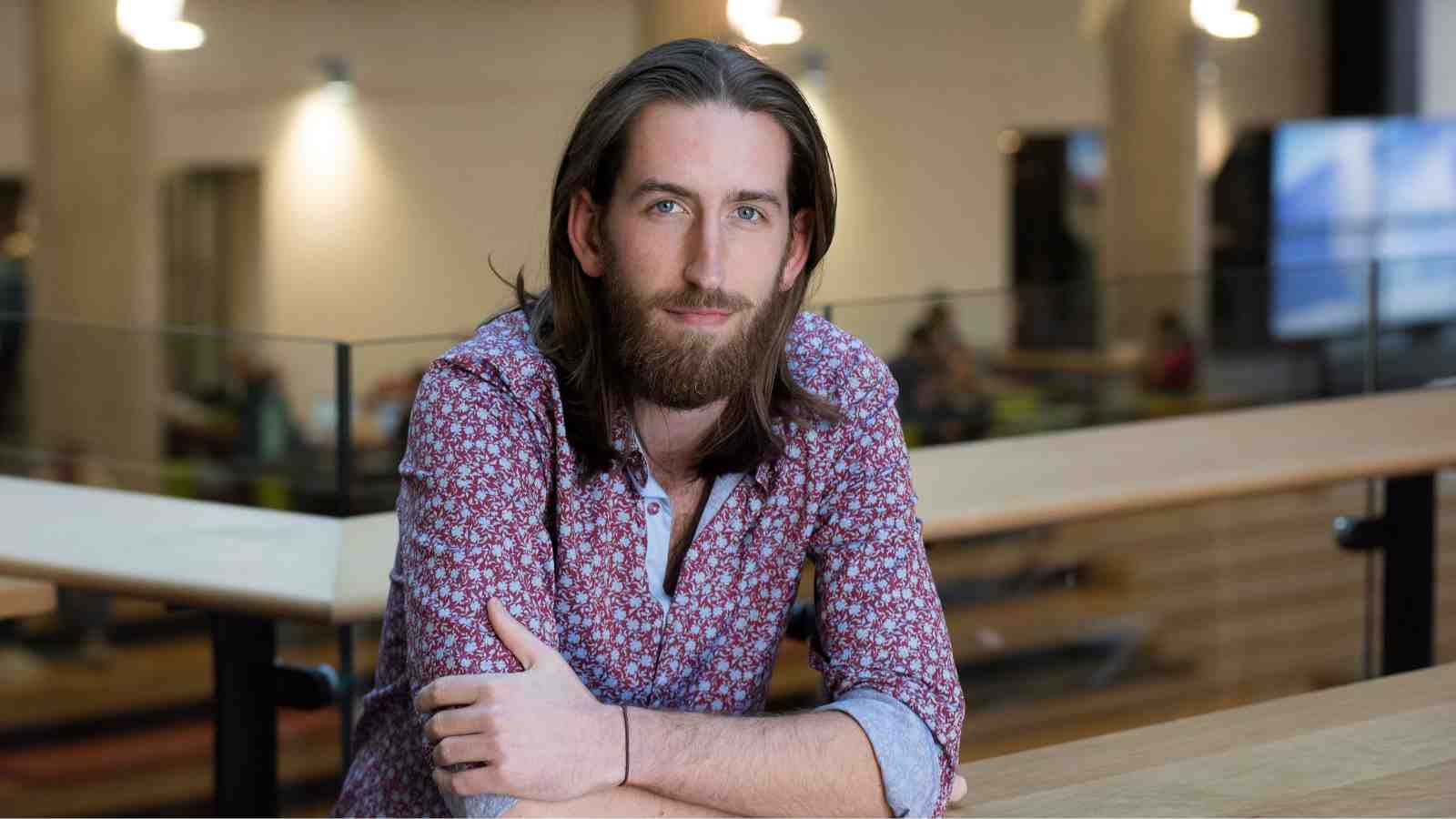 PhD candidate Christopher Maymon