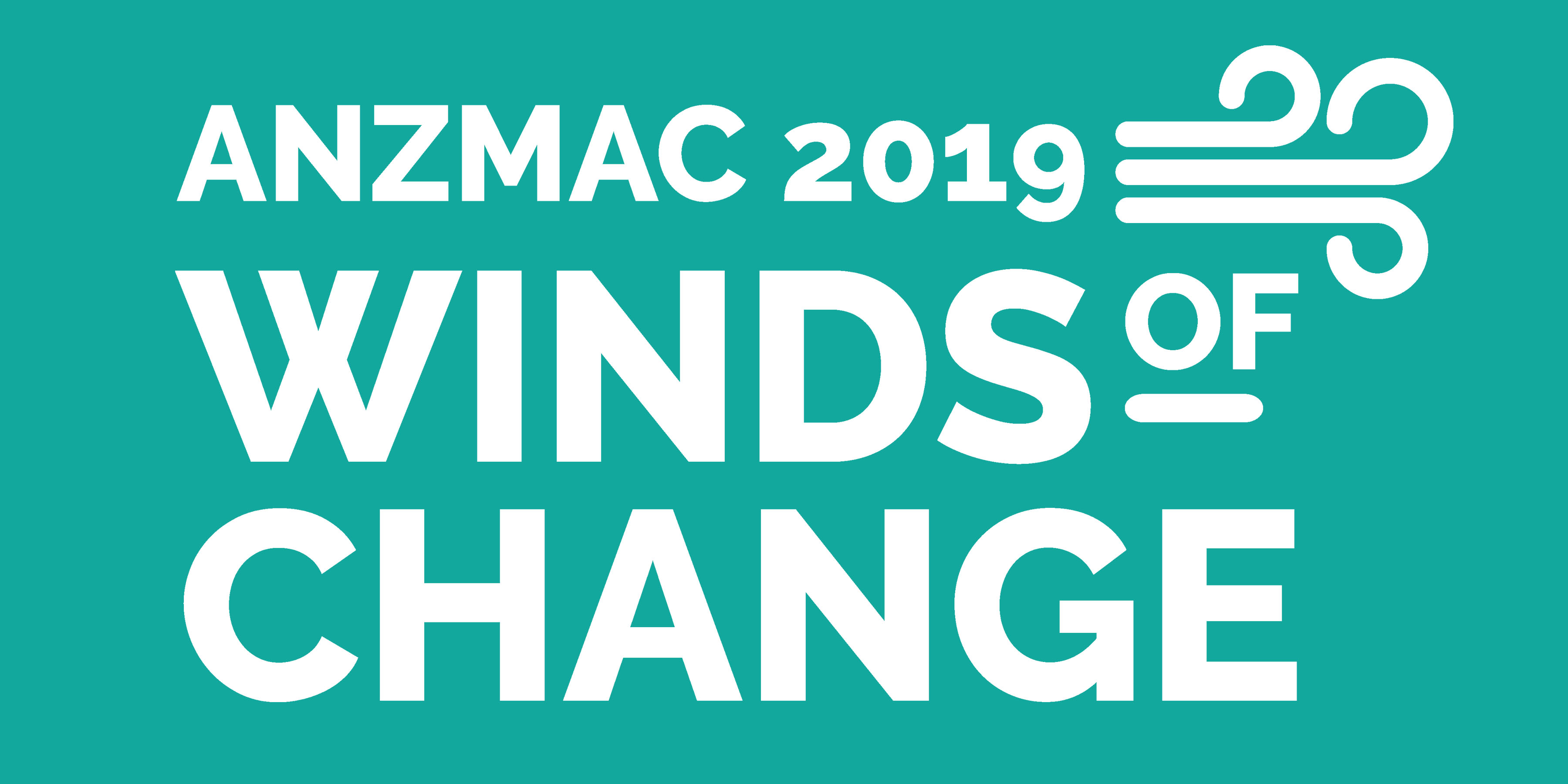The logo for the 2019 ANZMAC conference