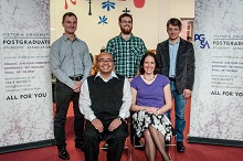 Winners of the 2014 Three minute thesis competition