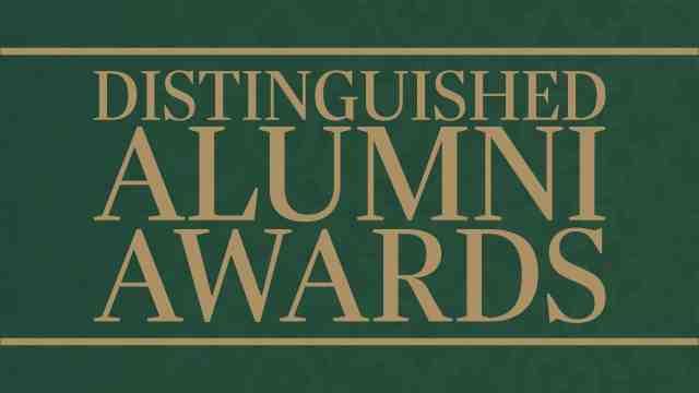 Distinguished alumni awards