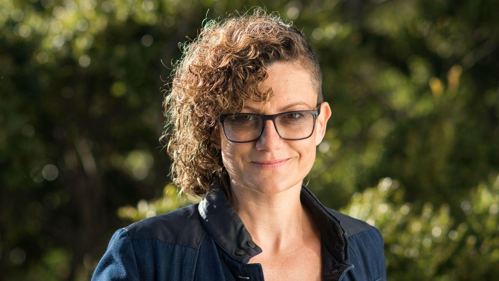locational photo of Linda Wilkin-Krug on the Kelburn Campus