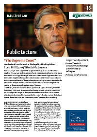Please click here to view the flyer for Lord Phillips Public Lecture