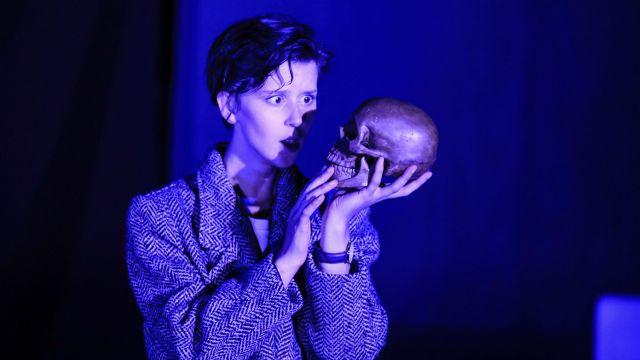 Stevie Hancox-Monk as Hamlet