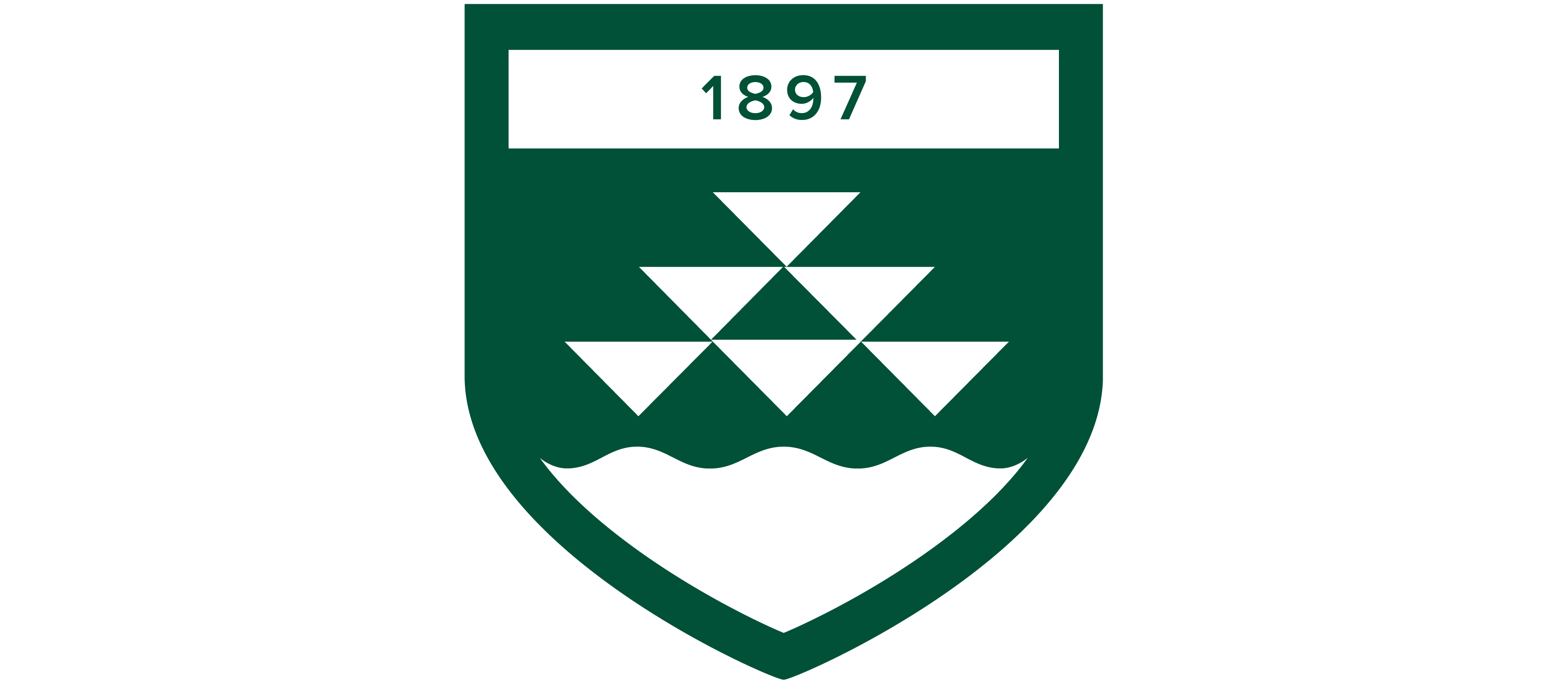 Logo component shield