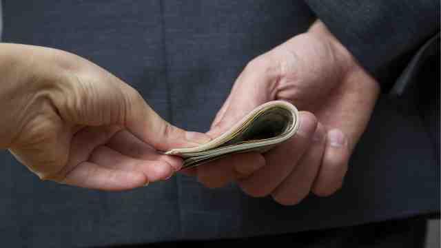 Legalised Bribery