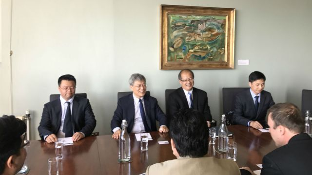 Chinese delegation from Chinese Academy of Social Sciences