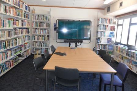 Resource Room North arm