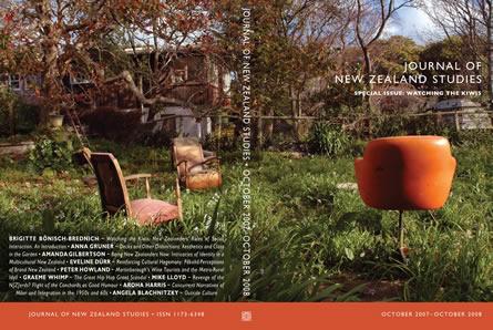 Journal of New Zealand Studies NS 6-7, October 2007-2008