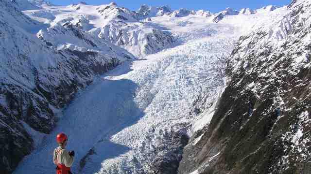 Franz Josef Glacier, 2005